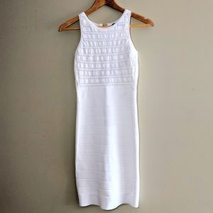 French Connection White Bodycon Dress